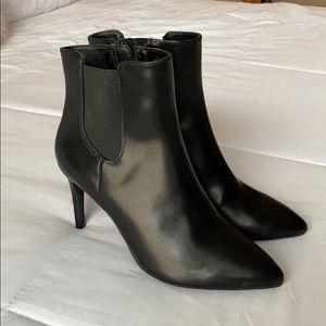 Express black booties